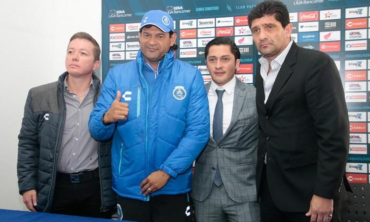 Buscará Cardozo sacar al Club Puebla de su letargo