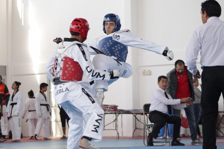 Avanzan Borregos del Tec en torneo de Taekwondo del CONDDE