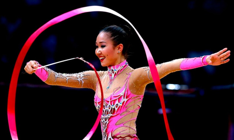 Llega la gimnasta Aliya Garayeva a Puebla