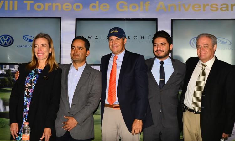 Presentan 18° Torneo de Golf Aniversario de La Vista