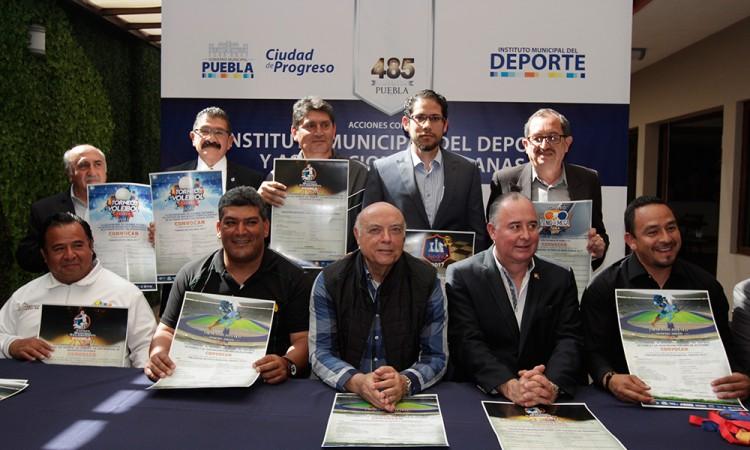 Recibirá Puebla cinco torneos deportivos en 6 meses
