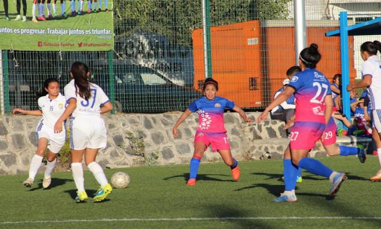 Golea 6-0 Selección Femenil Puebla a Real Jarochas
