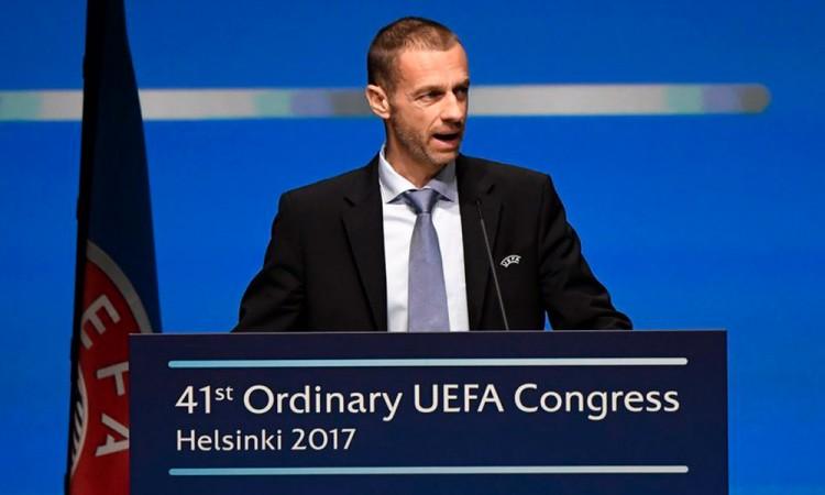 Presidente de la UEFA critica a las ligas líderes europeas