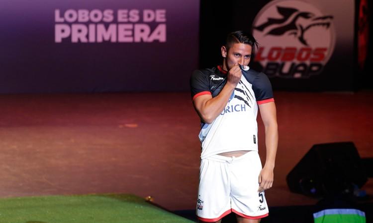 Orlando Rincón buscará titularidad con Lobos BUAP