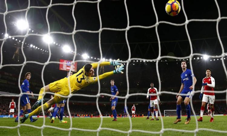 Sobre la hora Arsenal empata al Chelsea