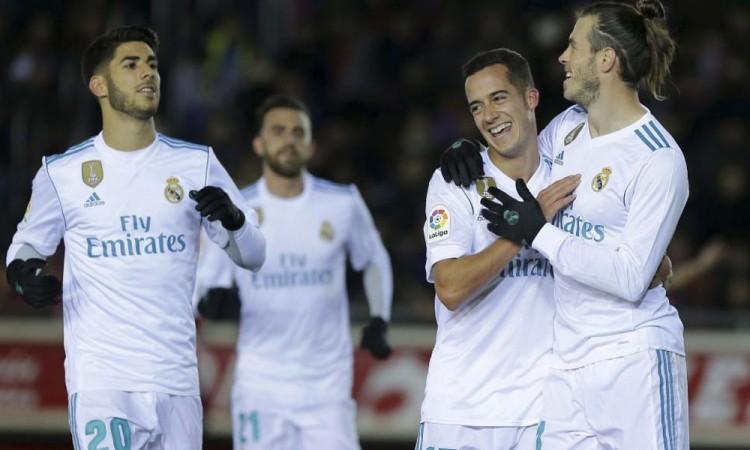 Deslucido Madrid se impone al Numancia