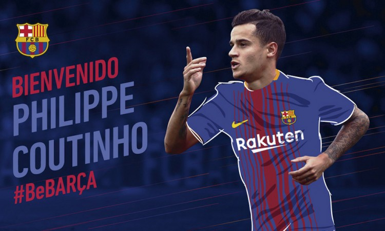 Barcelona ficha a Coutinho por 160 millones de euros