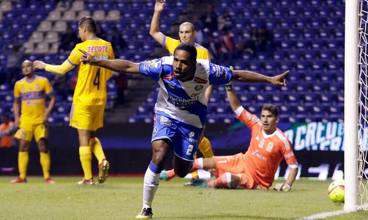 Gol a Tigres entusiasma a Brayan Angulo