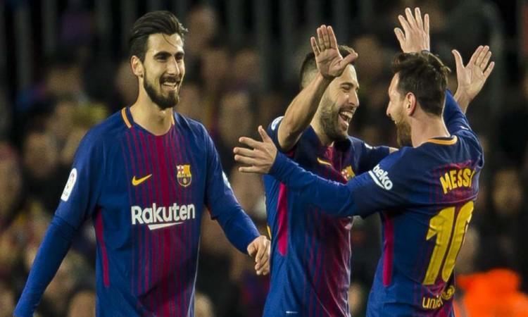 Cumple Barça trámite de copa