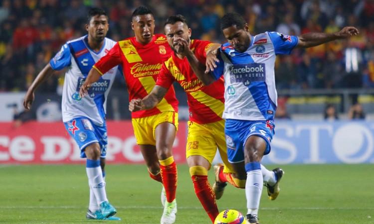 De mala racha el Club Puebla en Morelia