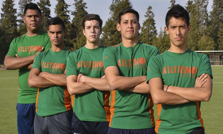 Inicia Aztecas el año de atletismo