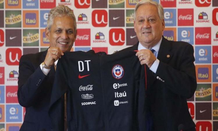Rueda nuevo  técnico de Chile