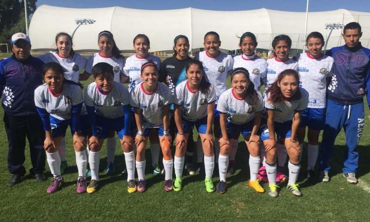 Selección Femenil Puebla y la Franja hacen alianza