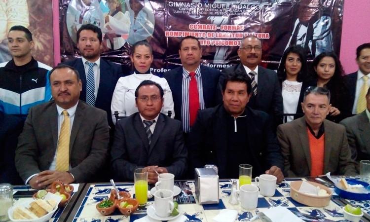 Presentan Copa Gonzaga de taekwondo