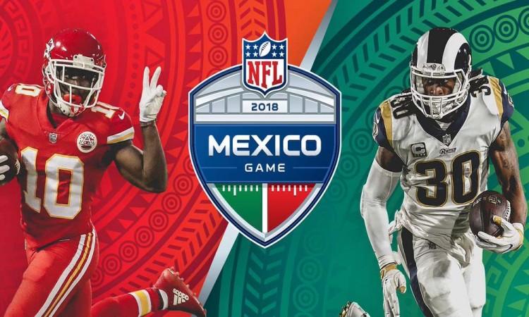 Jugarán Chiefs y Rams en México