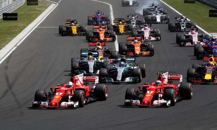 Anuncia F1  cambio de horario