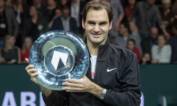 Conquista Federer torneo de Rotterdam
