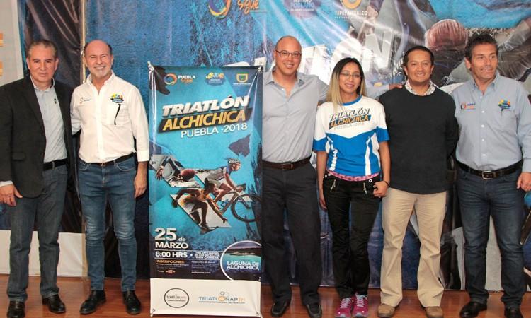 Anuncian triatlón de Alchichica para 25 de marzo