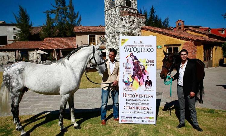Ventura, Luceiro y Zendejas en Val´Quirico