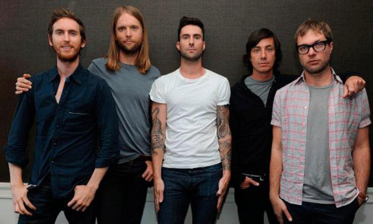 Maroon 5 cantará en el show de medio tiempo de Super Bowl