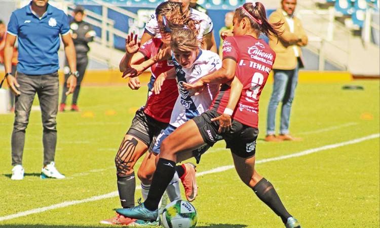 En Derby poblano femenil, Club Puebla vence a Lobitas