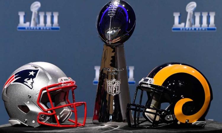 Super Bowl LIII enfrenta a Patriotas contra Rams, viejos conocidos