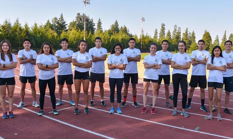 Arrancan las competencias para los Aztecas de atletismo