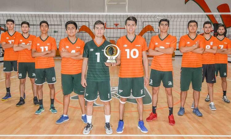 Afortunado debut de Aztecas Udlap de voleibol