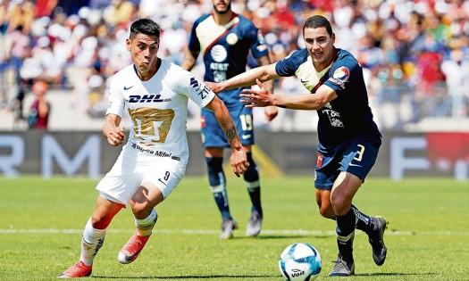 Con Nico Castillo, América cae 0-1 ante Pumas en CU