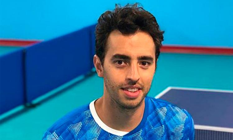 En dobles, Marcos Madrid fuera del podio de Lima 2019