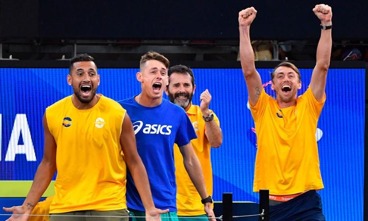 Australia, a cuartos de la Copa ATP