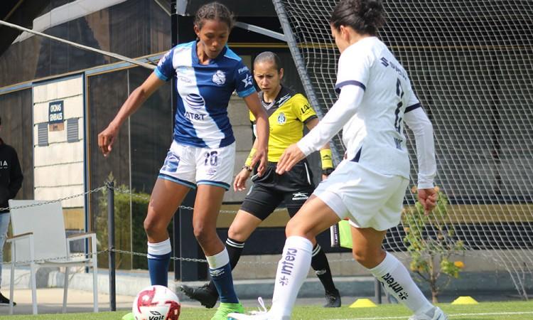 Club Puebla femenil arranca con goleada
