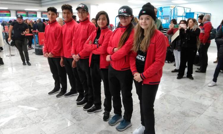 Delegación mexicana viaja a Lausana para los Olímpicos de la Juventud
