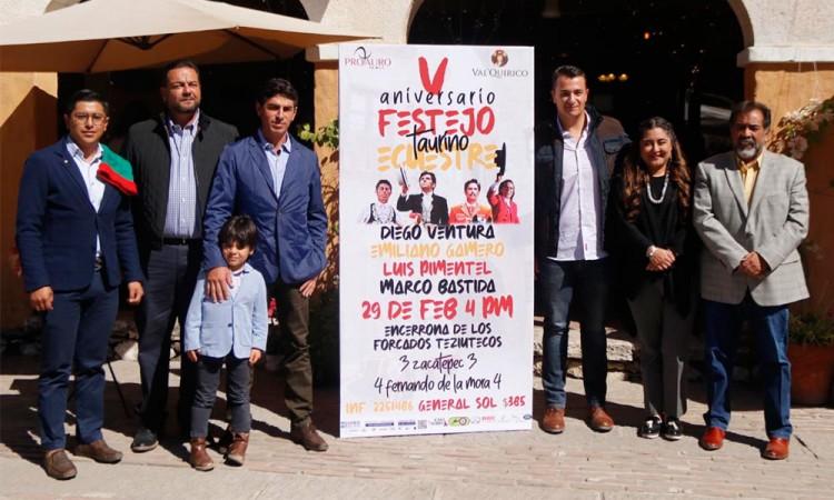Ventura, Gamero y Pimentel se presentarán en Val'Quirico