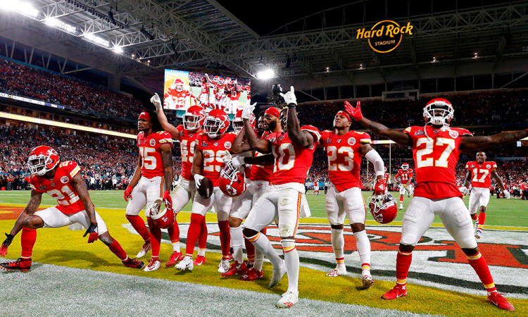 Chiefs, favoritos para repetir el campeonato