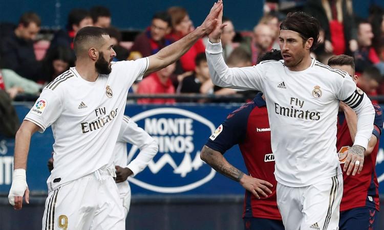 El Barcelona y el Madrid aprietan la liga española