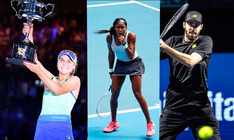 Luces y sombras del tenis  estadounidense