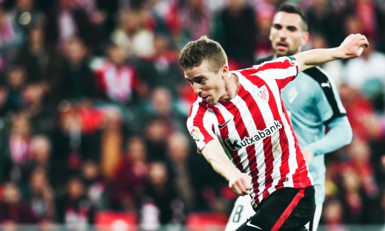 Iker Muniain otorga ventaja al Athletic