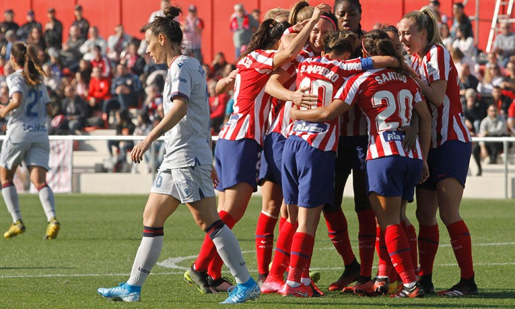 Charlyn Corral le da victoria al Atlético de Madrid