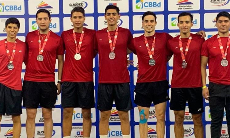 México firma la plata en Copa Panamericana de Badminton