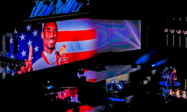 El gran homenaje a Kobe Bryant