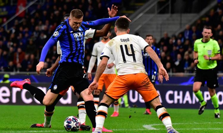 Goleada italiana al Valencia en los octavos de final