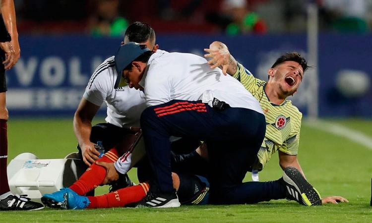 Colombiano Benedetti estará de baja de 6 a 9 meses