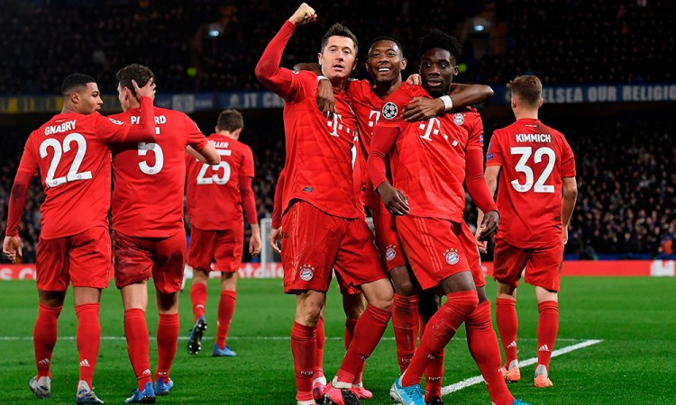 El Bayern aplastó al Chelsea