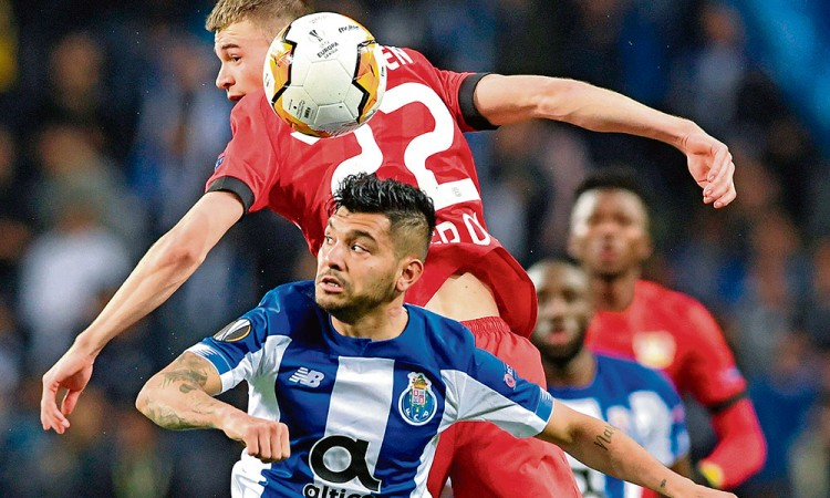 Porto y Ajax, eliminados de la Europa League
