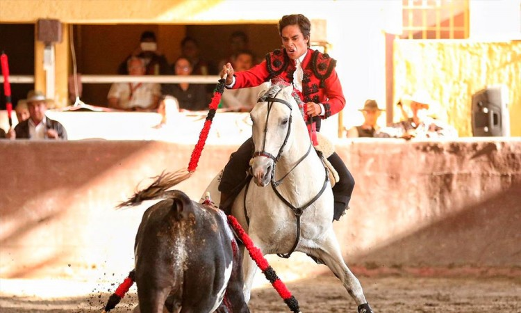 Lista la corrida de rejones en Val'Quirico