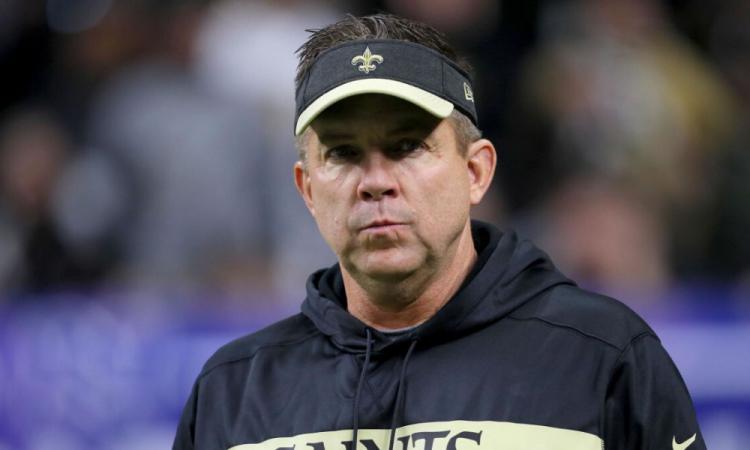 Entrenador de los Saints, primer positivo en la NFL
