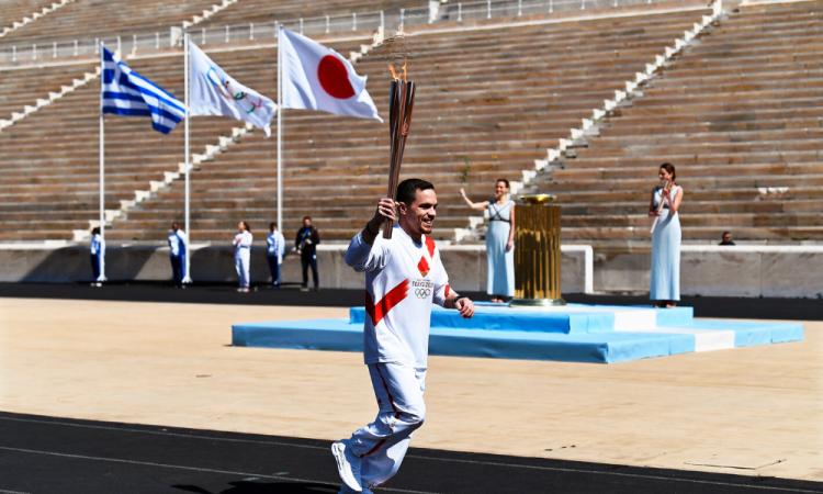 La antorcha Olímpica aterrizó en Japón