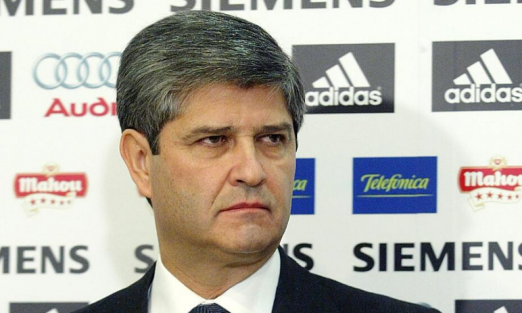 Fernando Martín, expresidente del Real Madrid,  está grave por coronavirus