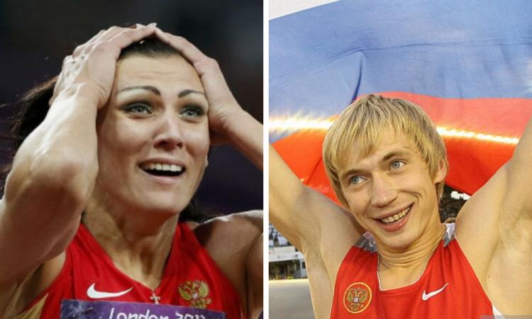 Campeones olímpicos rusos son acusados de dopaje ante el TAS